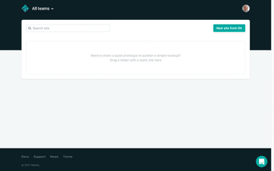New Site from Git
