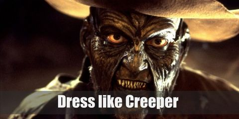 """""""This Western style of dressing allows the Creeper to conceal many of his demonic features that regular clothing would otherwise reveal very easily."""""""