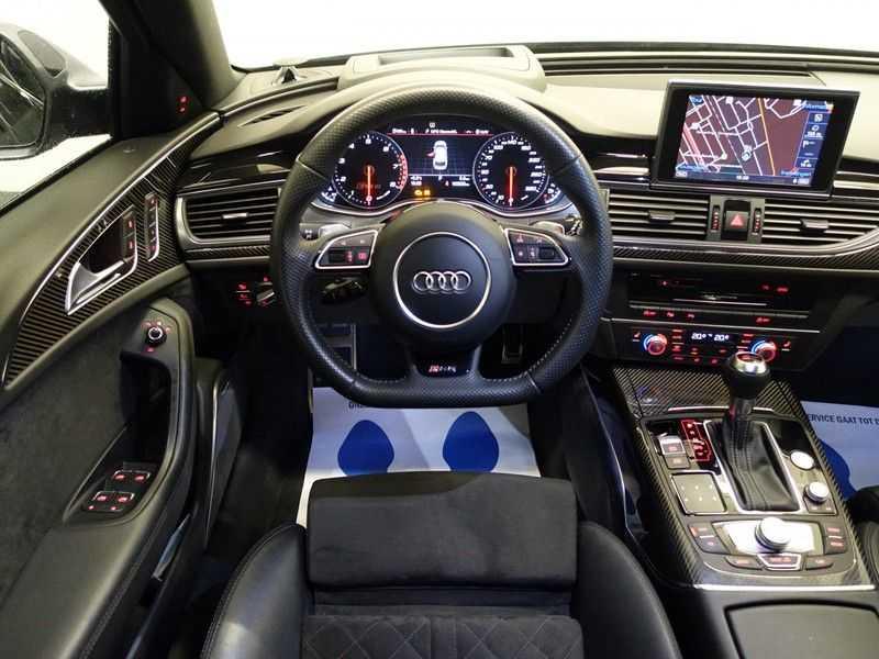 Audi A6 Avant 4.0 TFSI RS6 Quattro Performance 605pk Aut- B&O, Nightvision, Head-up, Orig NL Auto! afbeelding 6