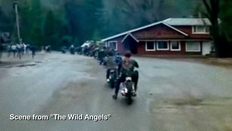 Scene from The Wild Angels