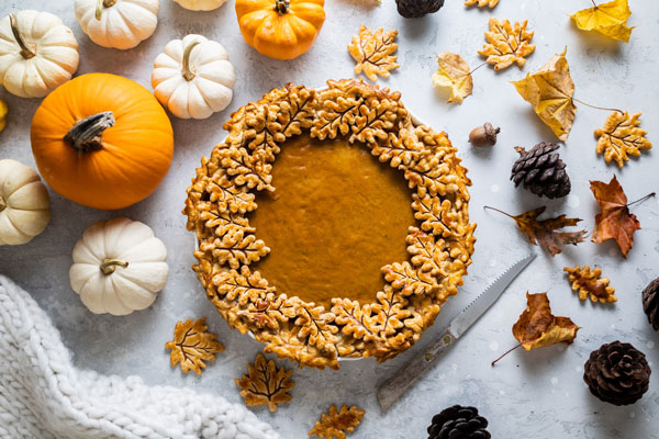 Brown Butter Maple Pumpkin Pie