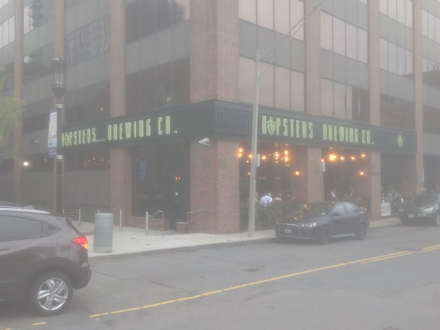 Hopsters Brewing Company in the Seaport, Boston, MA