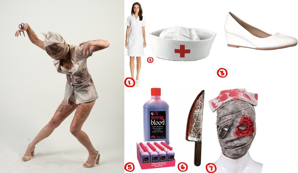 How to make Silent Hill Nurse Costume Tutorial  sc 1 st  Costumet & Dress Like the Zombie Nurse from Silent Hill Costume for Cosplay ...