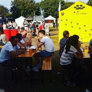Great turnout today @fantasticfoodfestivals Wimbledon Park. Let's go again tomorrow@and Monday! #summer #craftbeer #lindr #foodfestival