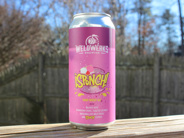 ¡SPONCH!, a Sour Wheat Ale brewed by WeldWerks Brewing