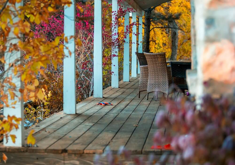 Fall Porch and Patio Ideas