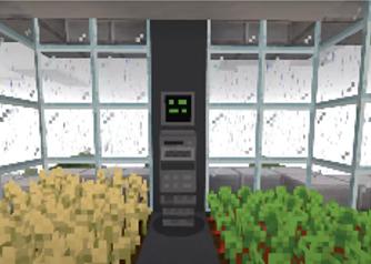 Indoor Farm in Minecraft