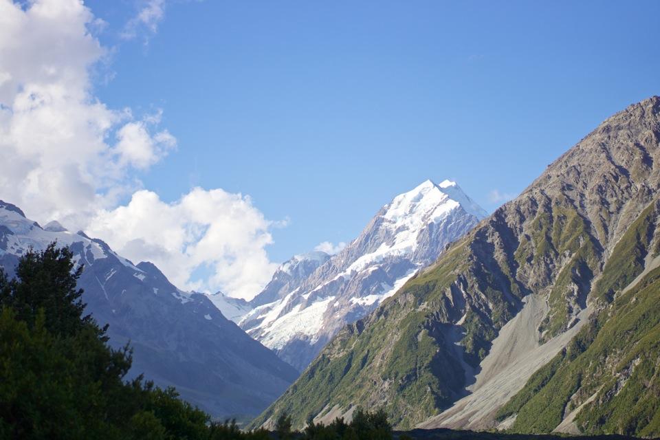 Aoraki / Mount Cook, highest mountain in New Zealand