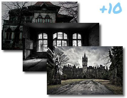 Abandoned Mansions theme pack