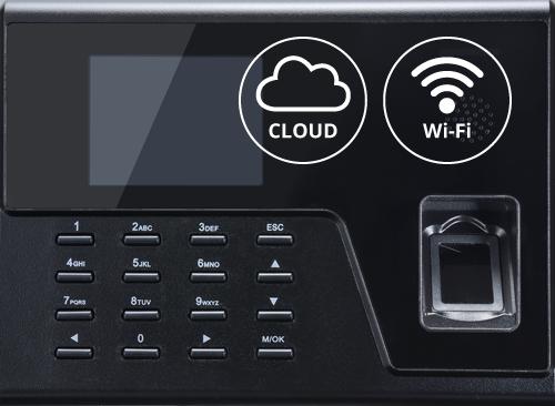 TimeArmor KN760 Biometric Time Clock with Wi-Fi