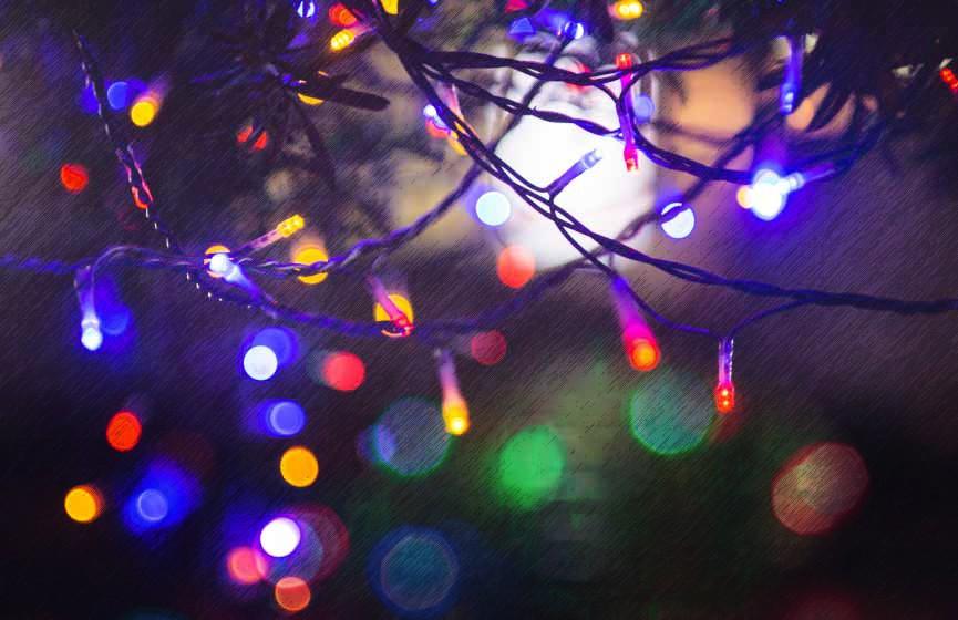 Raising community spirits with holiday lights