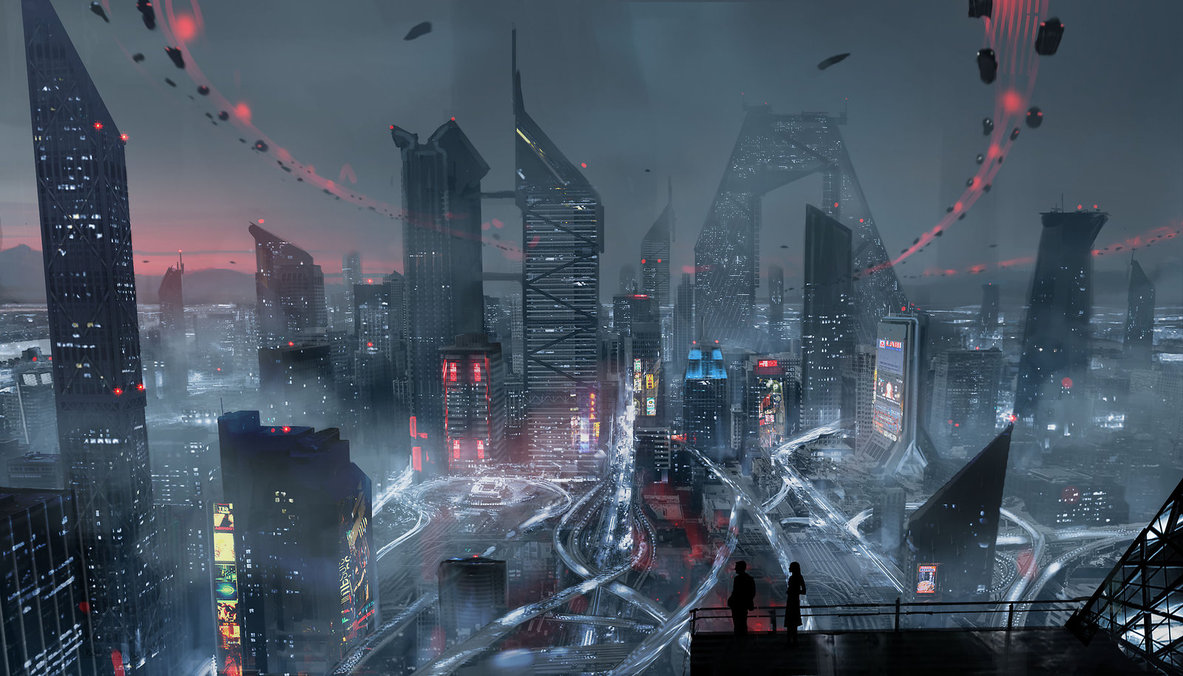 Bay City from Altered Carbon