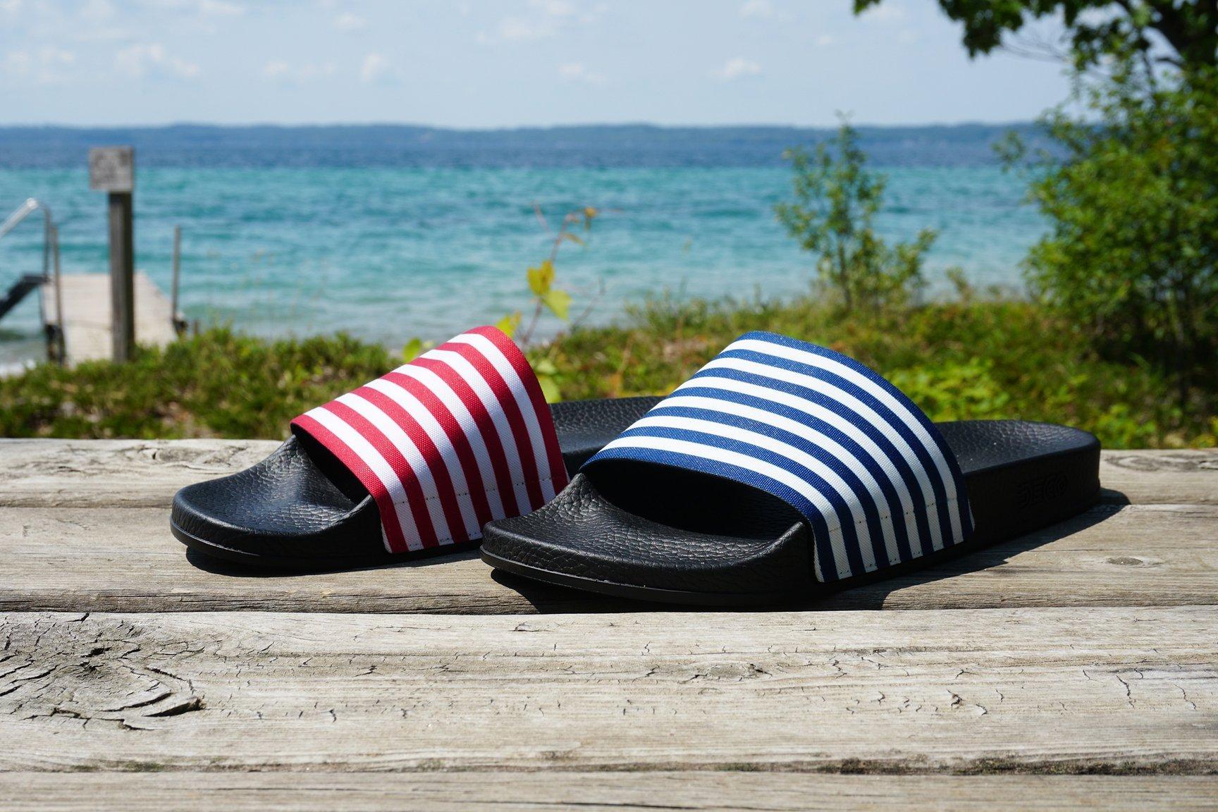 Deco sandal slides