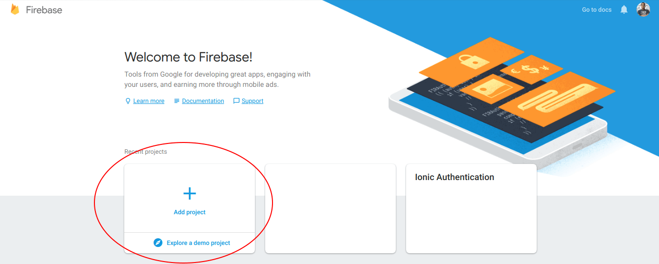Firebase Authentication for Ionic Apps ·