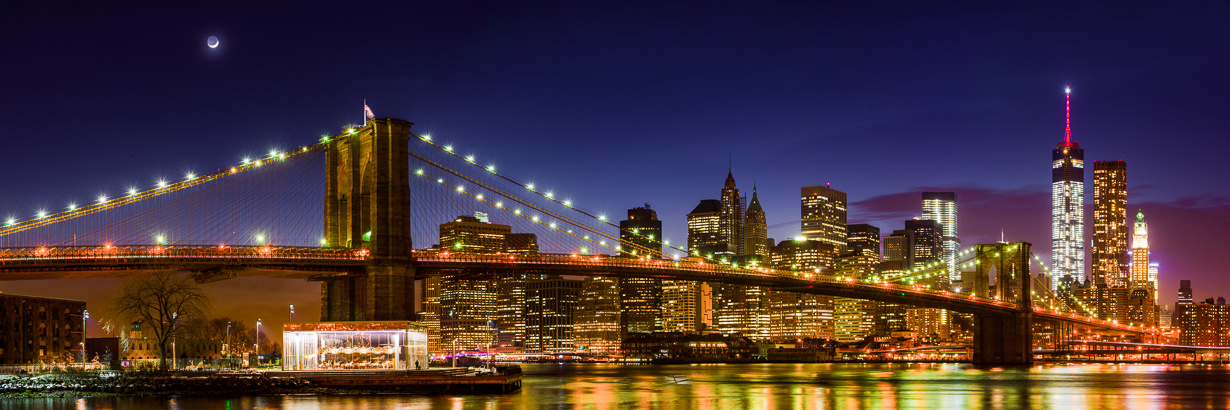 New York City Moonrise