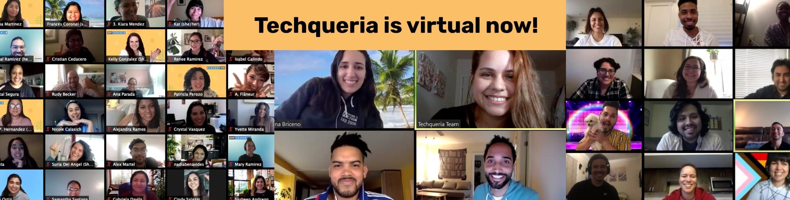 Techqueria Virtual Events