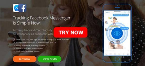 sadap messenger fb
