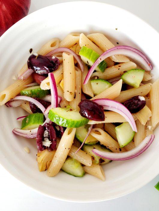 Loaded Greek Pasta Salad