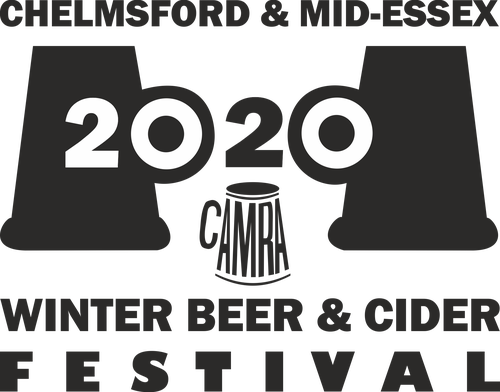 Chelmsford Winter Beer and Cider Festival 2020 Logo