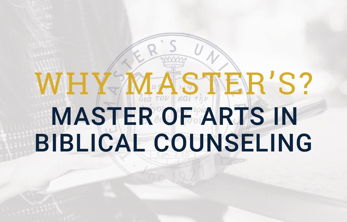 Master of Arts in Biblical Counseling (MABC)