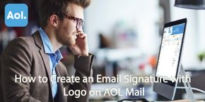 How to Create an Email Signature with Logo on AOL Mail