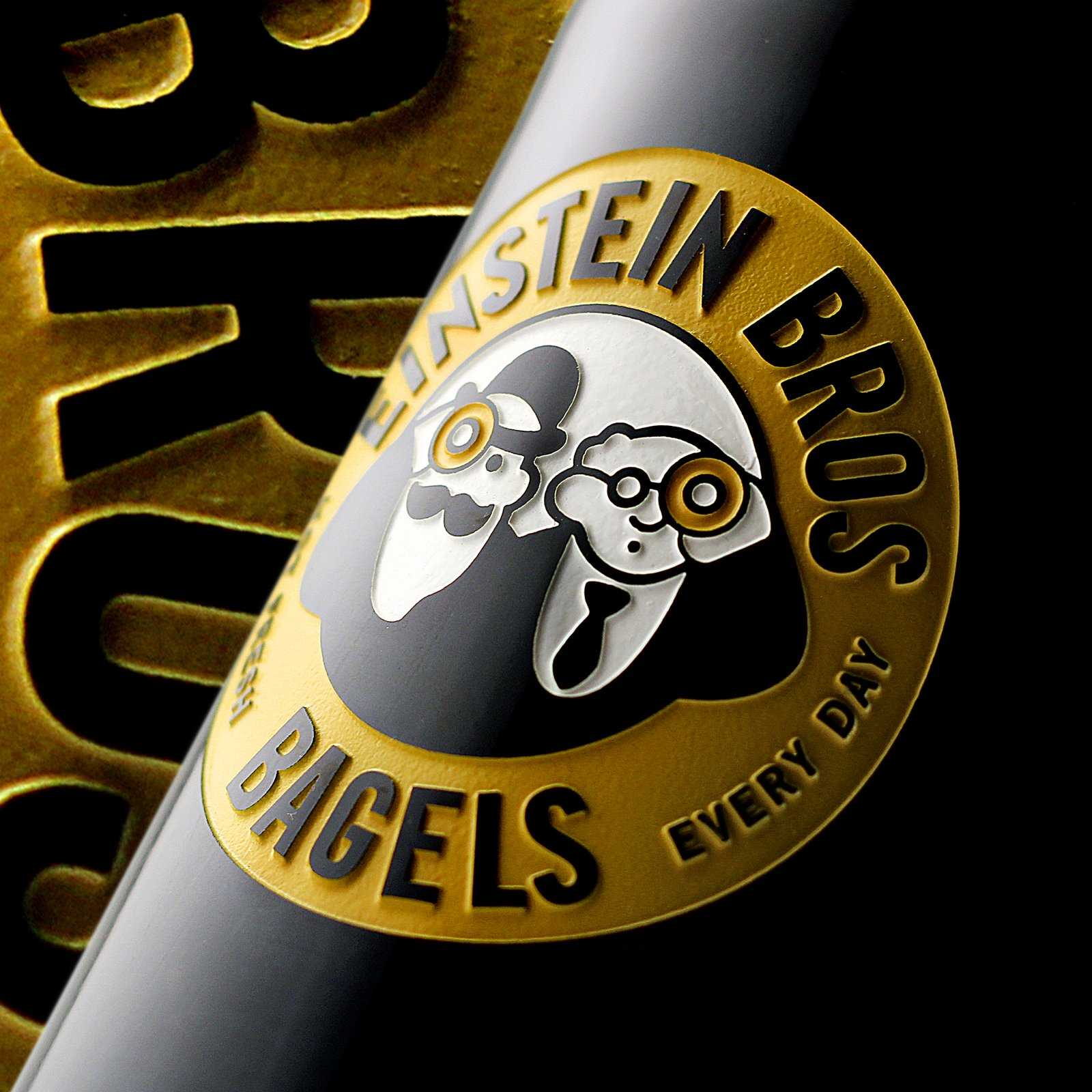 Company Logo Etched Wine Bottle