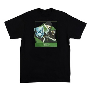 The Rising of the Shield Hero Black T-shirt