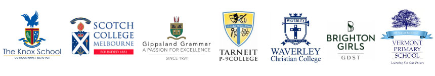 Some of our happy school logos