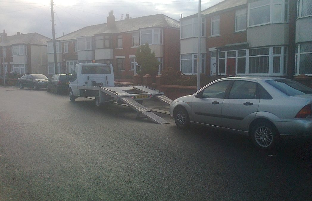 Scrap cars Bought In Blackpool – Ford Focus