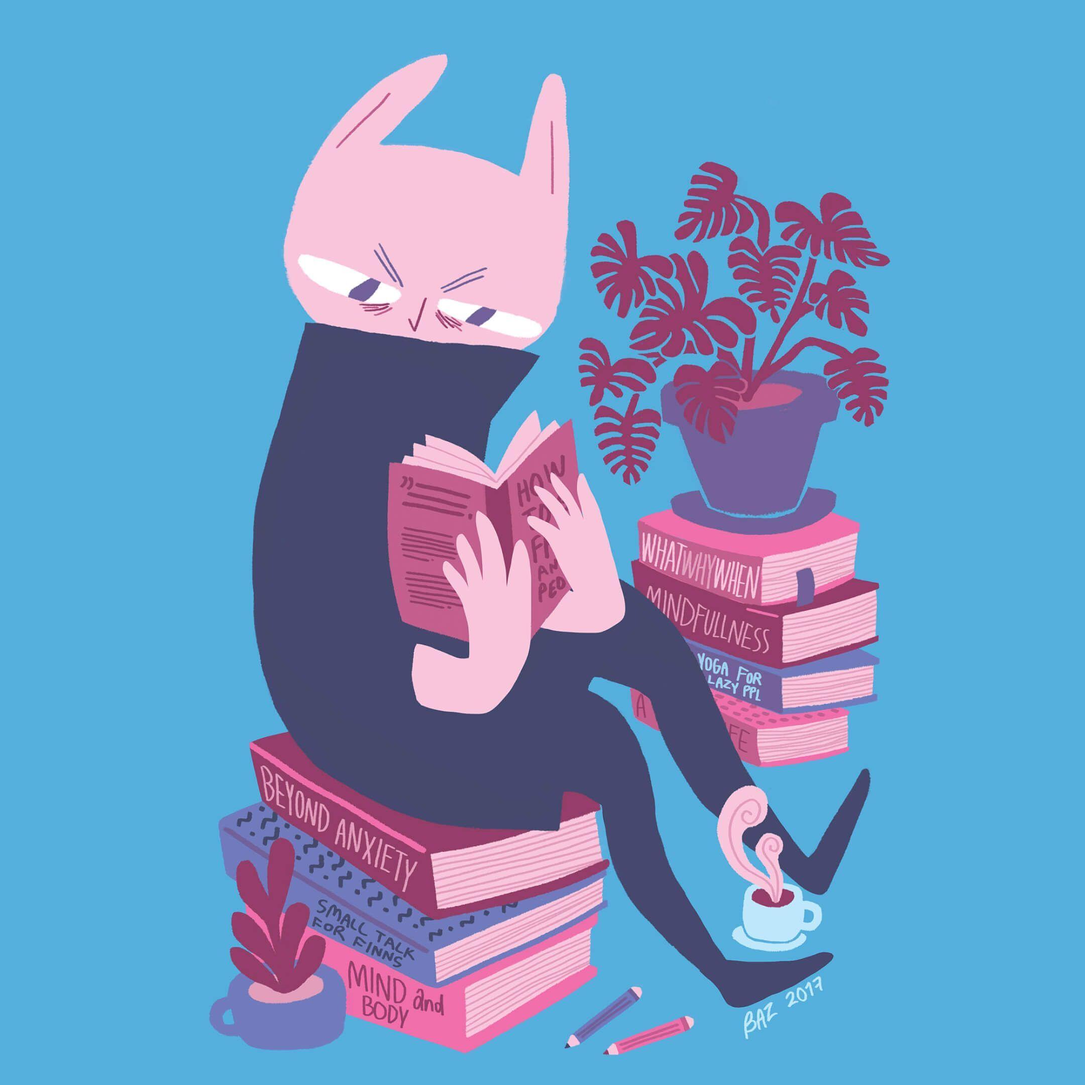 Иллюстратор Sebastian Sotavalta. Источник: behance.net