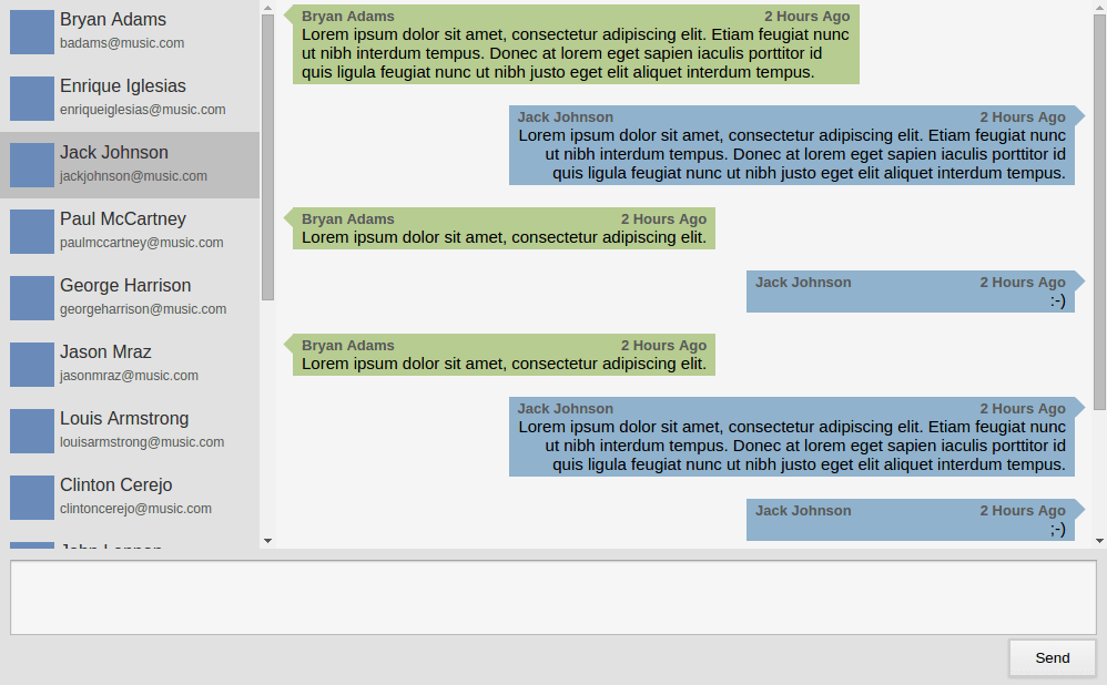 Threaded Chat Preview