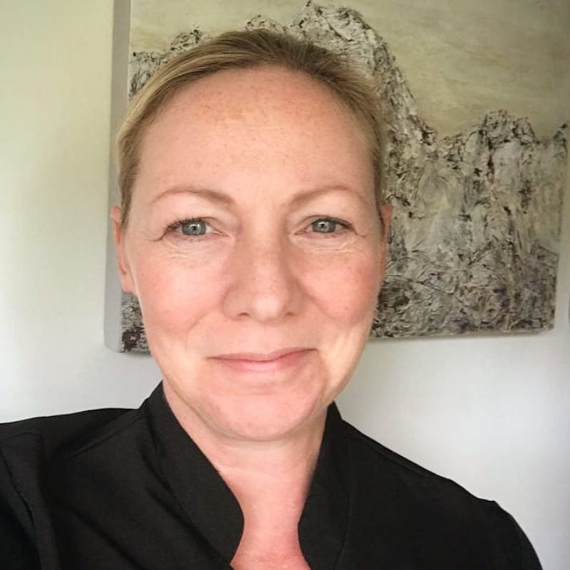 A photo of Debbie Clayton, Clinical Reflexologist.