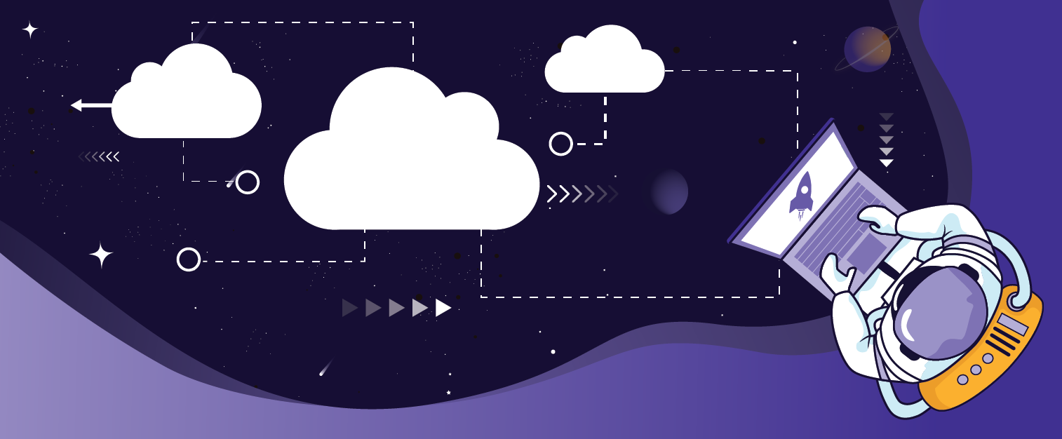 illustration of a blog post: Four Ideas for Optimizing Your SaaS Landing Page