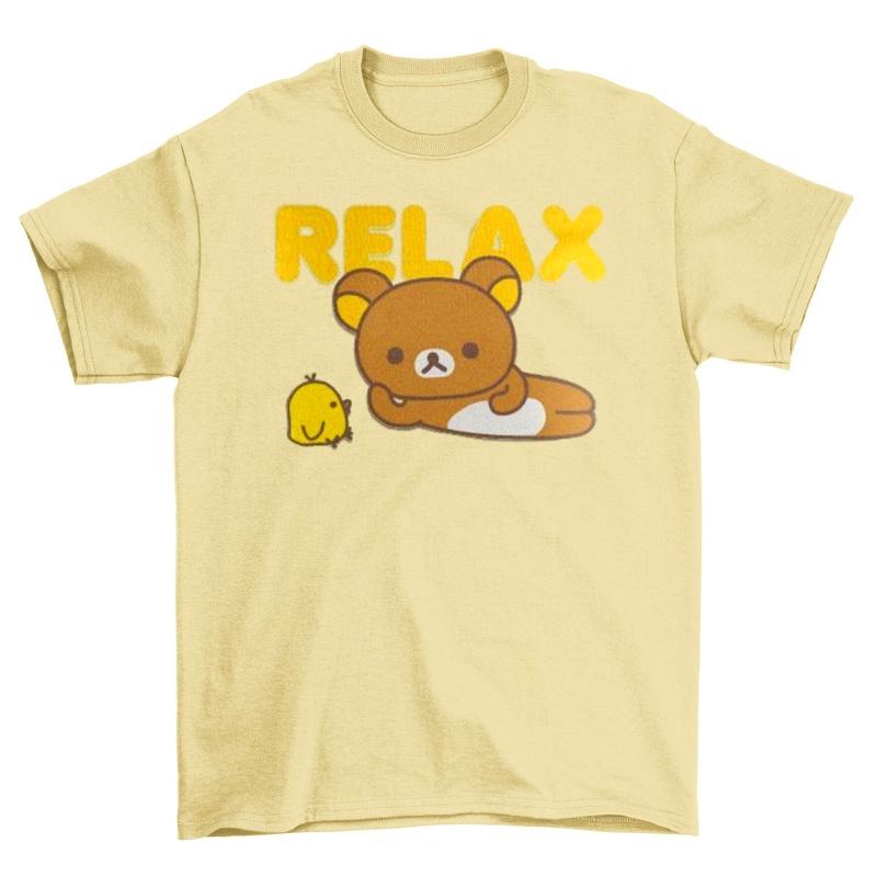Teddy Bear TShirt Rilakkuma Juniors Graphic Tee