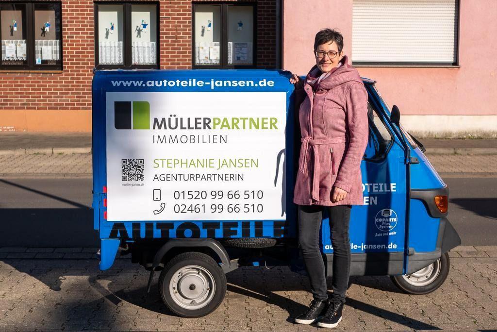 Immobilienmakler Jülich Stephanie Jansen - Müller und Partner