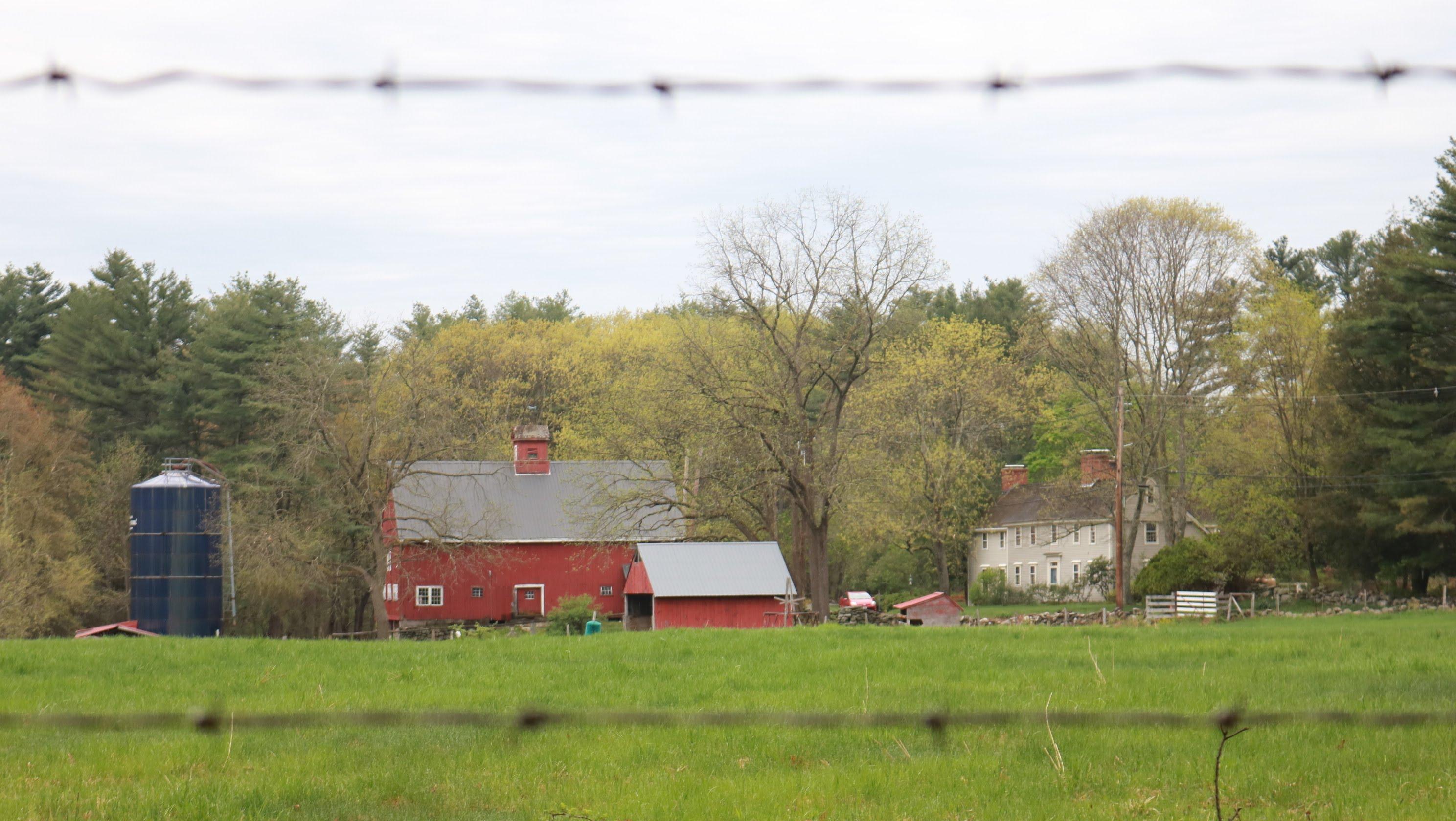 A farm in Carlisle, Massachusetts.