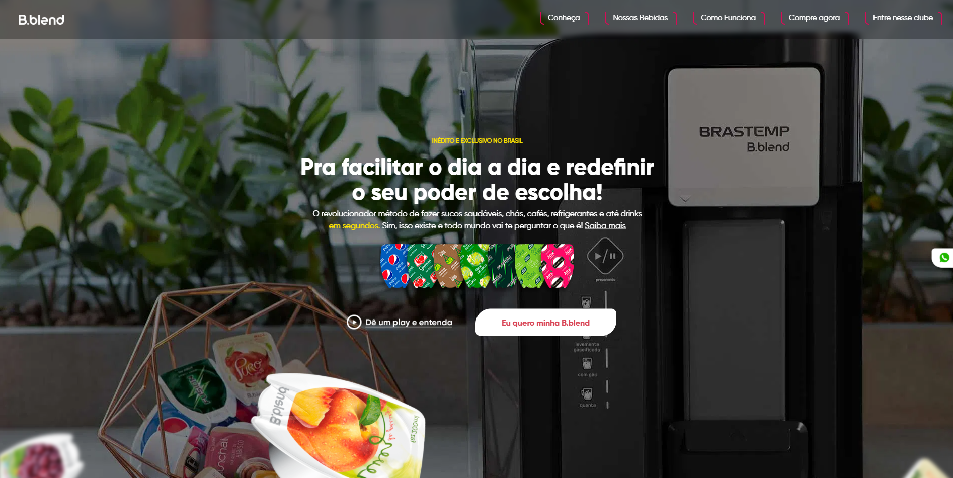 bblend-maquinas homepage
