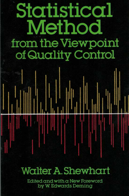 Statistical Method from the Viewpoint-of Quality Control