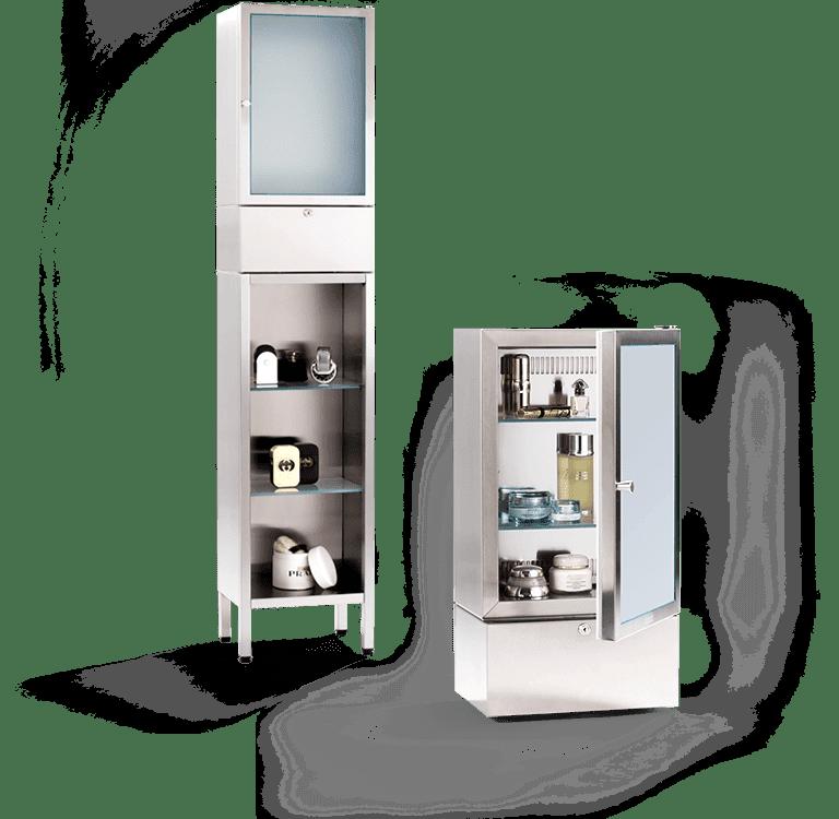 Luxury cosmetics fridge / cosmetics cooler