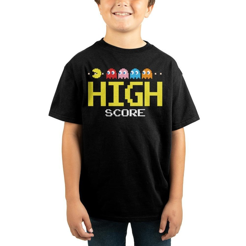 Pac-Man High Score Children T-shirt Wear