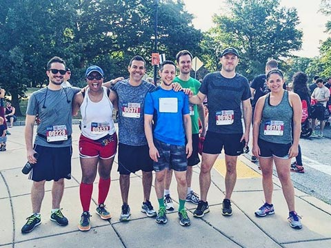 O3 World team members participate the Travis Manion 9/11 Heroes Run