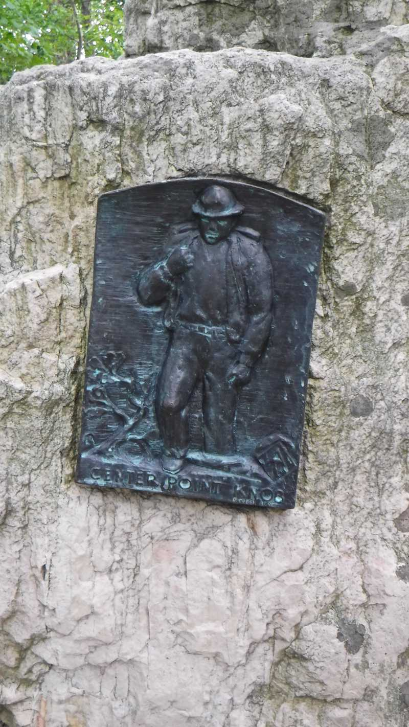 Marker at Center Point Knob