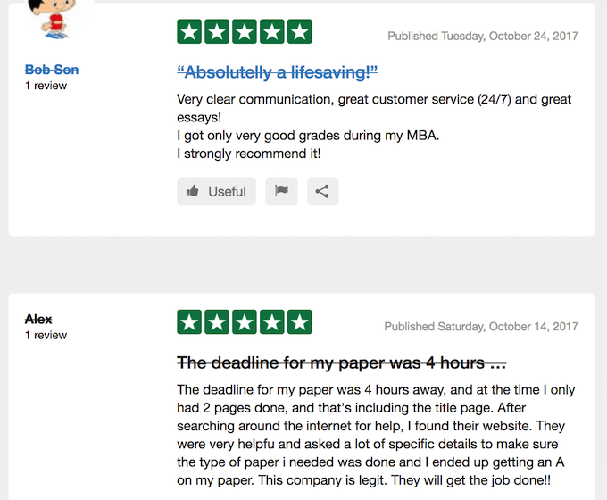 essaybox.org reviews at TrustPilot are positive