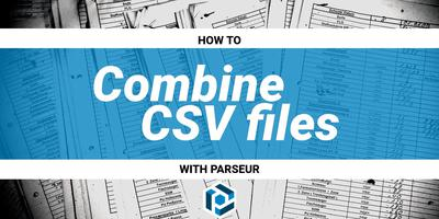 Cover image for How to combine CSV files and spreadsheets together automatically