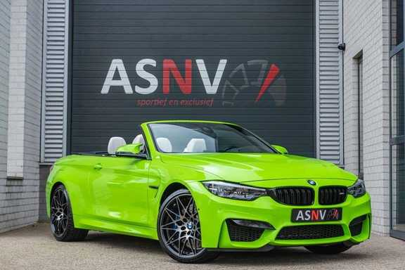 BMW M4 Cabrio Competition, DCT, 450 PK, Harman/Kardon, LED. Comfort/Toegang, Surround View, DAB, Head/Up, 9500KM!!