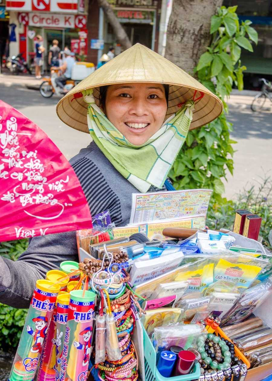 Smiling faces of Saigon.