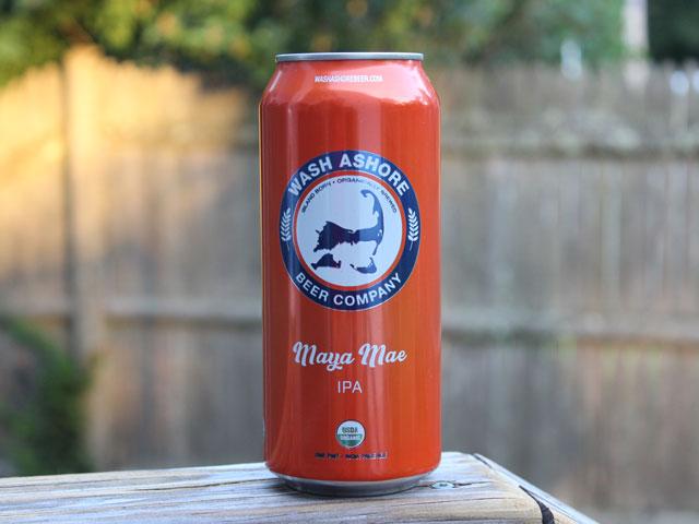 Maya Mae, an IPA brewed by Wash Ashore Beer Company