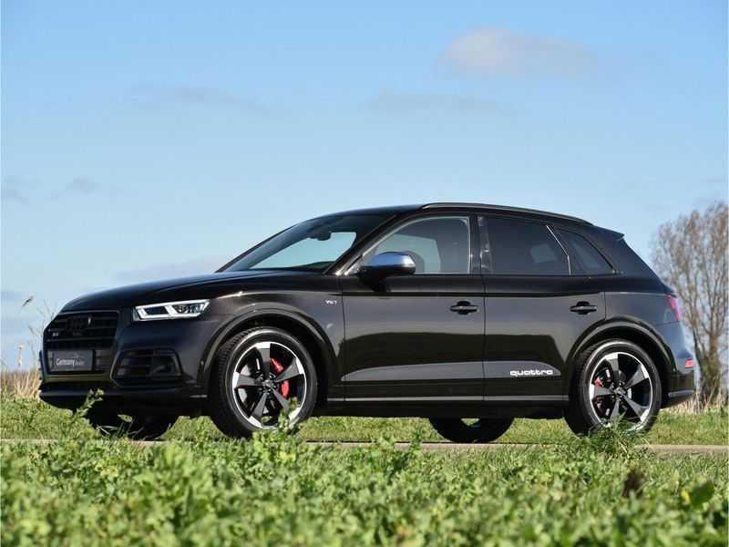 Audi SQ5 3.0TFSI 354pk Quattro Black Optic Alle Opties! Individual Lucht Tr.Haak Standk Ruitleder 360Cam afbeelding 23