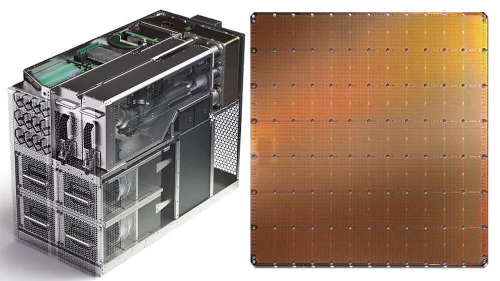 Cerebras Wafer Revealed Rare 2.6 Trillion-Transistor CPU With 850,000 Cores