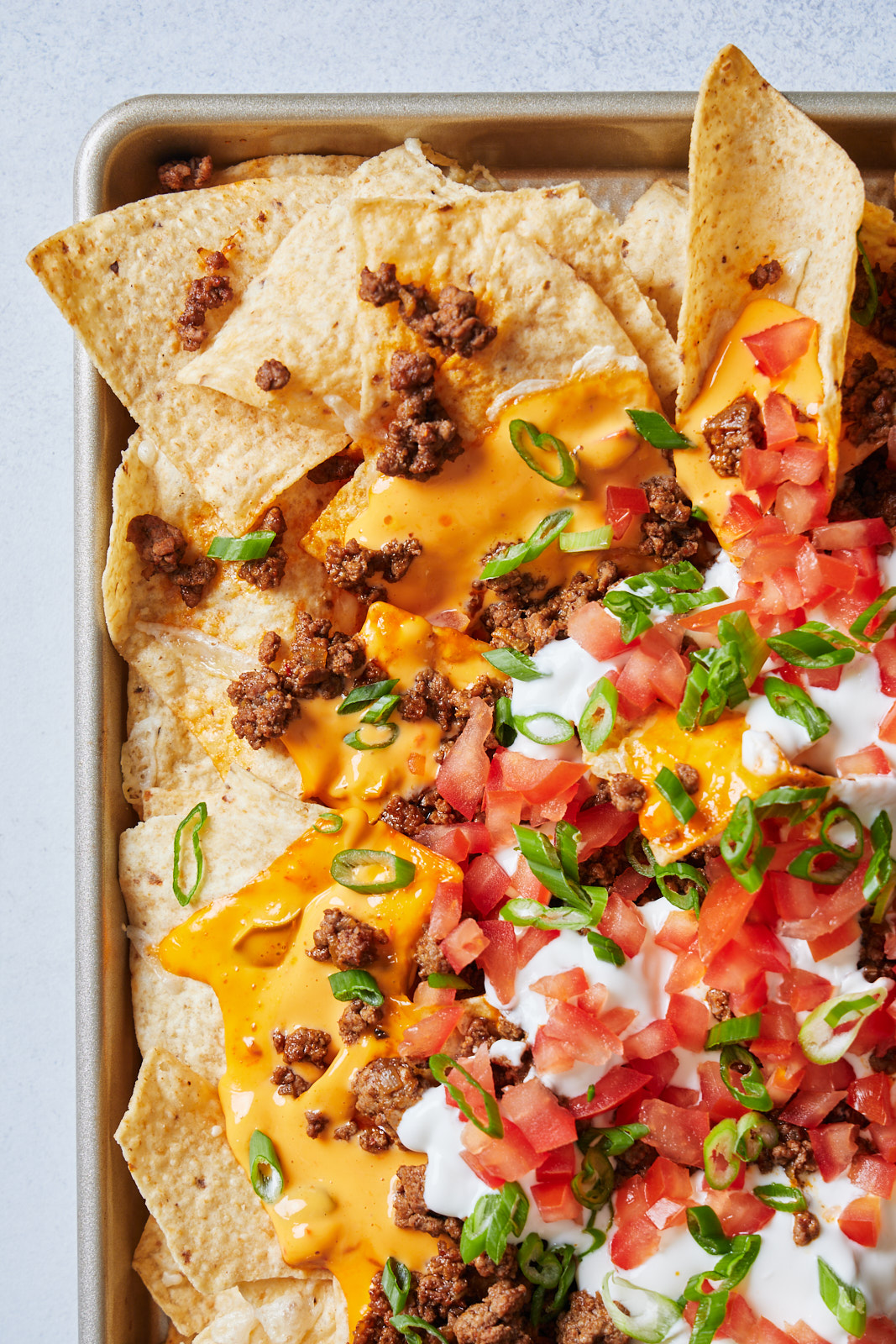 Sheet Pan Nachos Supreme